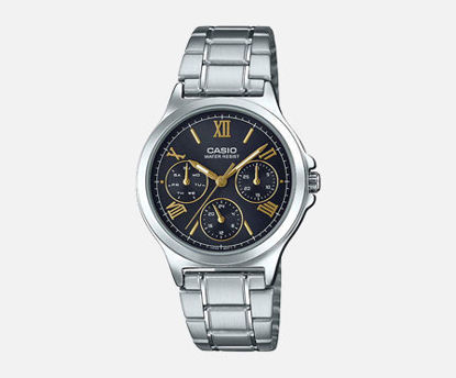 Picture of Casio Analog Black Dial Women's Watch-LTP-V300D-1A2UDF (A1694)