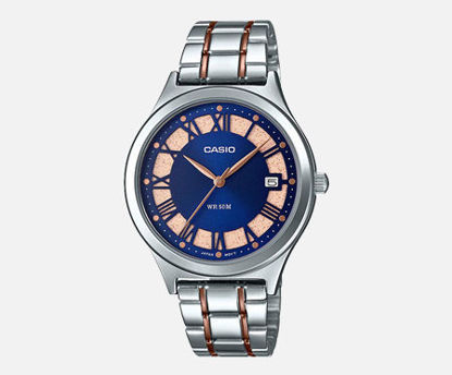 Picture of Casio Analog Blue Dial Women's Watch-LTP-E141RG-2AVDF (A1594)