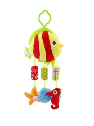 Picture of Happy Monkey Baby Bed Bell Sounding Baby Calm Toy - Size: One Size