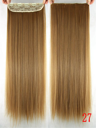 Picture of 1 Piece Women's Hair Extension Stylish Straight Hair Wig Accessory - Size: One Size