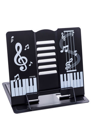 Picture of 1Pc Versatile Book Holder High Quality Home Essential Product - Size: COLOR:Black
