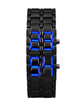Picture of Men's LED Watch Creative Steel Band Wrist Watch Accessory - Size: One Size