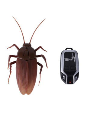 Picture of Kid's Plastic Remote Control Simulation Cockroach Prank Insect - Size: One Size