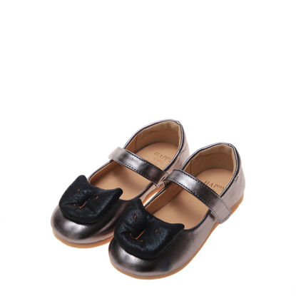 Picture of Toddler Girl's Leather Shoes Cartoon Decor Soft Flat Cute Shoes - Size: 26