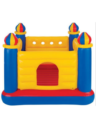 Picture of Children's Castle Jumping Bouncer Inflatable Naughty Ocean Ball Pool - Size:One Size