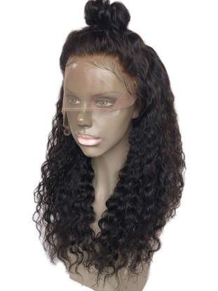 Picture of Women's Synthetic Hair Wig Curly Long Adorable Design Wig Accessory - Size:24 inch