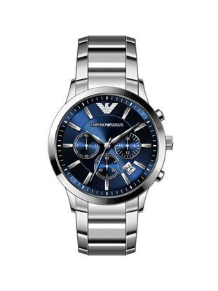 Picture of Emporio Armani Men's Quartz Watch Round Dial Date Window Business Watch - Size:One Size