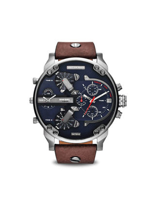 Picture of Diesel Men's Quartz Watch Four Time Zone Date Window Multi-functional Watch - Size:One Size