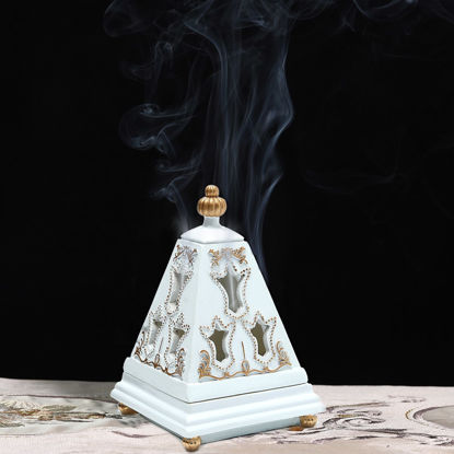 Picture of 1 Pc Pagoda Incense Burner Creative Home Censer Home Decor - Size:One Size