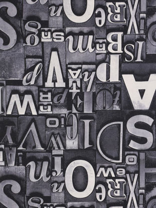 Picture of 1 Pc Wall Paper 3D Vision Letters Printed Decorative Wall Sticker