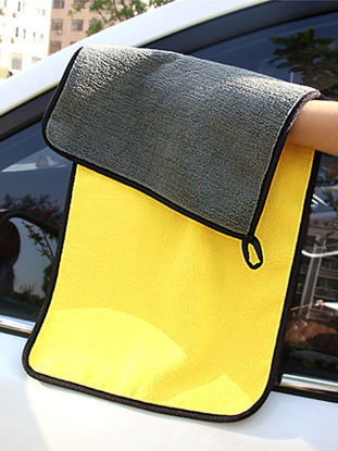 Picture of Car Cleaning Towel Strong Water Absorption Soft Durable Washing Towel