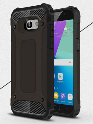 Picture of Samsung A5 2017 Phone Cover Shatter Resistant Heat Dissipation Dustproof Hard Case - Size:Samsung A52017