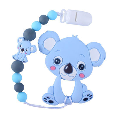 Picture of One Piece Baby's Pacifier Chain Silicone Cartoon Cute Durable Pacifier Chain - Size:One Size