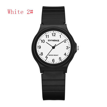Picture of Men's Quartz Watch Simple Lightweight Water Proof All Match Watch - Size:One Size