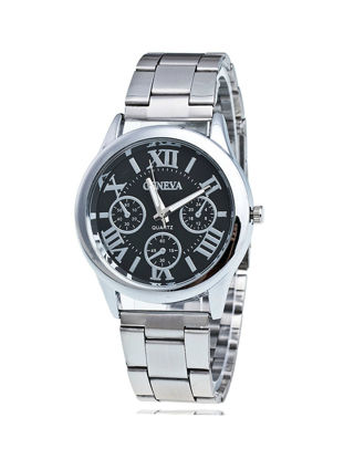 Picture of Men's Simple Watch Classical All Match Steel Chain Watch - Size: One Size