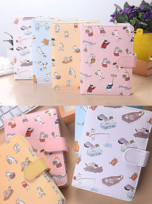 Picture of 1 Pc 32K Cartoon Notebook With Magnetic Button Kids Stationery