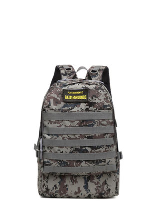 Picture of Men's Backpack Fashion Stylish USB Charger Camouflage Waterproof Bag - Size: One Size