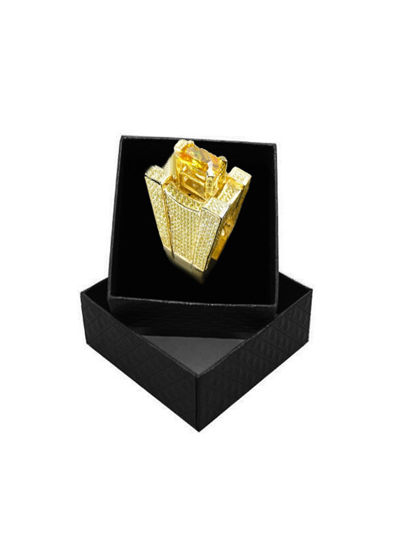 Picture of Men's Ring Exquisite Hip-hop Style Ring Accessory - Size: 7