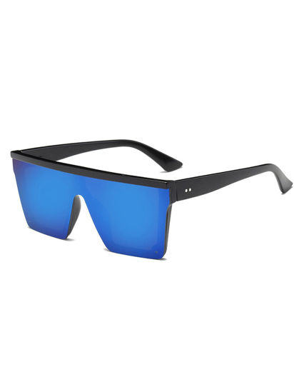 Picture of Men's Sunglasses Trendy Stylish Square Full Frame All Match Eyewear - Size: One Size
