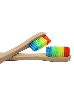 Picture of 2Pcs Toothbrushes Colorful Environmental Friendly Practical Toothbrushes