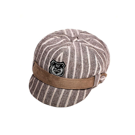 Picture of Kids' Peak Cap Cartoon Cute British Style Fashion Chic Accessory - Size: 2-5Yrs
