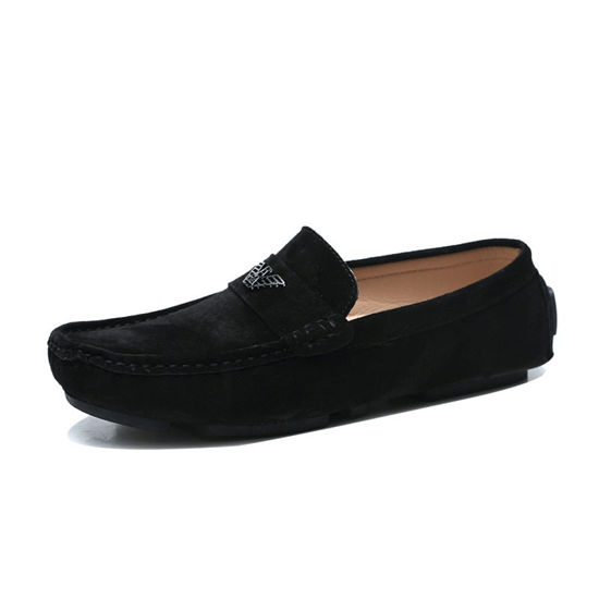 Picture of Men's Loafers Fashion Vintage Solid Color Shoes - Size: 42