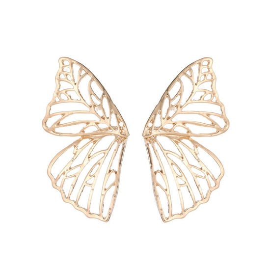 Picture of Women's Clips Personality Hollow Out Butterfly Design Stylish Accessories - Size: One Size