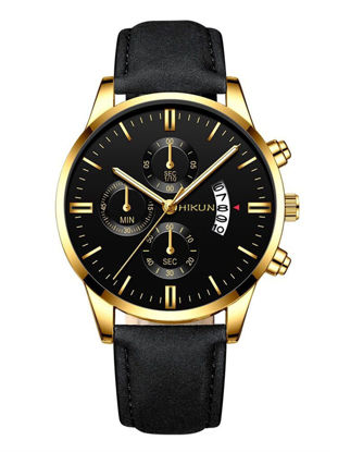 Picture of Men's Quartz Watch Big Dial Business Trendy Accessory - Size: One Size