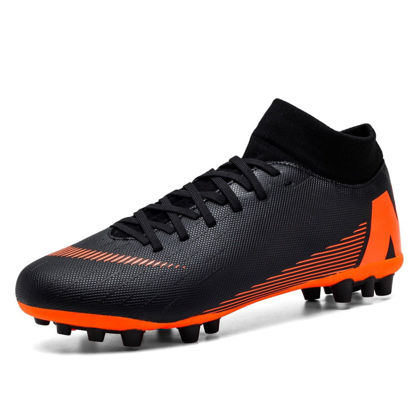 Picture of Men's Training Shoes Color Block Waterproof Anti-Skid Damping Soccer Shoes - Size: 40