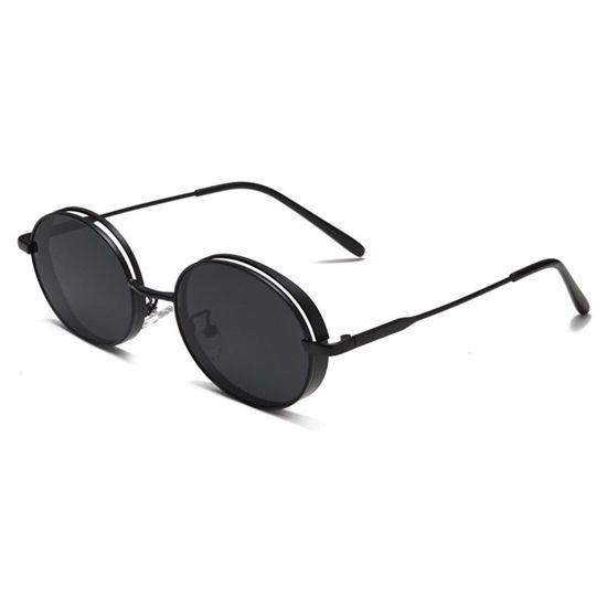 Picture of Men's Sunglasses Vintage Style Thicken Frame Accessory - Size: One Size