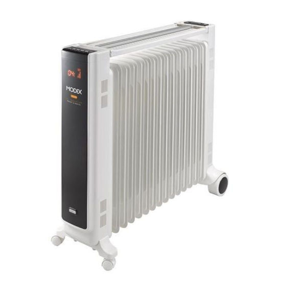 Picture of Modex oil heater, 15 fins, 2800 watt