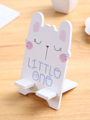 Picture of Phone Holder Cartoon Animal Pattern Design Lazy Mobile Tablet Holder- Size: Free