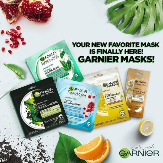 Picture of Garnier Paper Masks