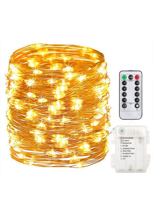 Picture of 1Pc 10M 100Leds String Lights Fashionable Chic Creative Multi-functional Decor Light ابجوره ديكور