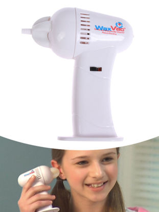 Picture of Ear Wax Remover Cleaner Set Safe Removal Vacuum Cleaner Health Cleaning