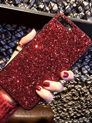 Picture of IPHONE 7Plus Cover Shakeproof Glittering Case - Size: IPHONE 7Plus