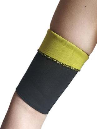 صورة 2 Pcs Women's Arm Guards Elastic Protective Fitness Accessories - Size: Free