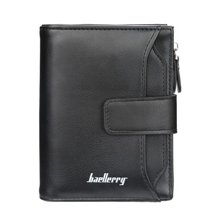 Picture of Men's Wallet Zipper&Hasp Closure Casual Bag - Size: One Size