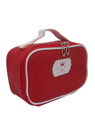 Picture of Makeup Bag Solid Color Durable Large Capacity With Handle