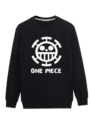 صورة Men's Sweatshirt All Match Breathable Soft Long Sleeve Sweatshirt- Size: L