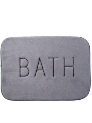 Picture of Bath Mat Slow Recovery Thick Non-slip Absorbent Pad