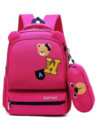 Picture of Kid's Backpack Large Capacity Durable Comfortable Fashion Boy'sSchoolBag- Size: One Size