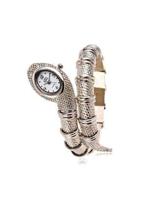 Picture of Women's Quartz Watch Fashion Unique Snake Shaped Watch Accessory - Size: One Size