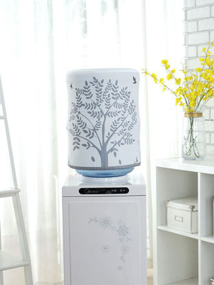 Picture of Home Water Dispenser Barrel Cover Fresh Cartoon Pattern Full Covered Dustproof Cover