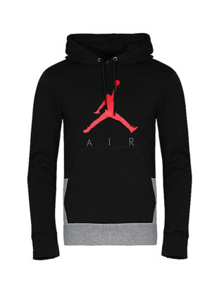 Picture of Nike Men's Fashion Hoodie Simple Logo Casual Sports Loose Hoodie 942776-092 - Size: M