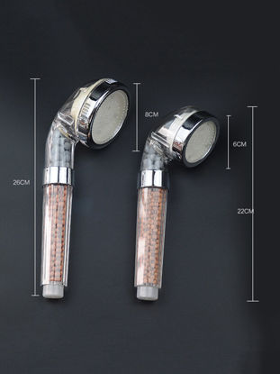 Picture of Shower Head 7 Color LED Romantic Light Bathroom Accessory