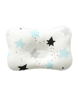 Picture of 1 Piece Newborn Baby Pillow, with Breathable 3-Dimentional Air Mesh and Washable Natural Cotton - Size: One Size