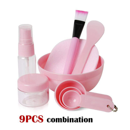Picture of 9PCs DIY Mask Tools Sets Mask Bowl Mixing Stick Skin Care Tools