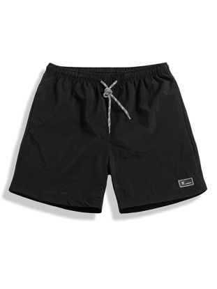 Picture of Men's Casual Shorts Sports Quick Drying Drawstring Waist Breathable Plus Size Gym Wear Bottom - Size: XXL
