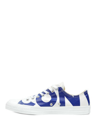 Picture of Converse Unisex Sneakers Lace Up Letter Pattern Color Block Cozy Flat Shoes - Size: 44